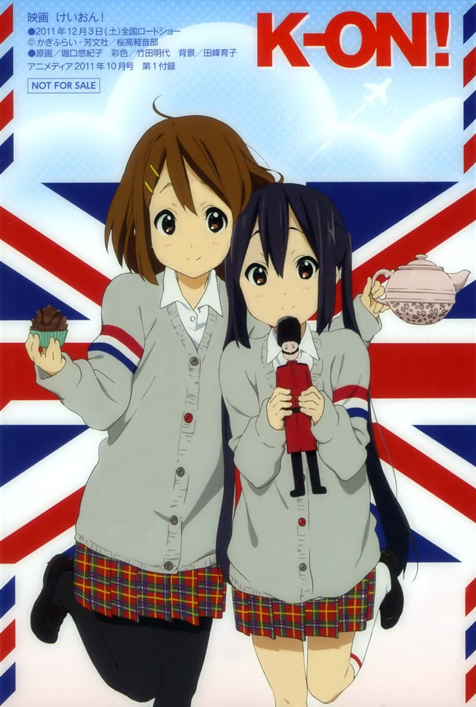 Yui and azunya!! in England