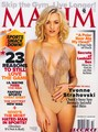Yvonne Strahovski on the Cover of the October 2011 Issue of Maxim Magazine (HQ)