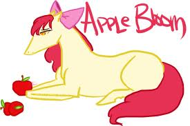 applebloom as a horse
