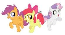 applebloom,scotaloo and sweetie sino