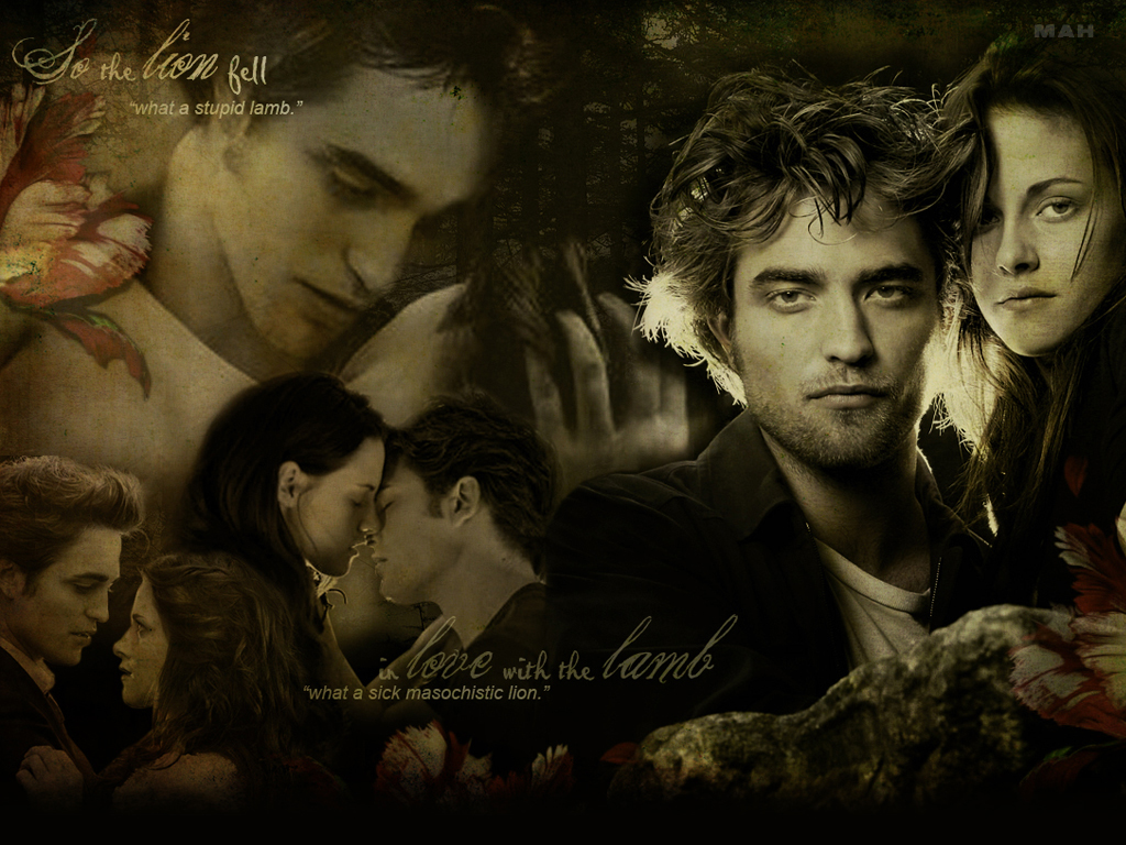 bella and edward - twilight-series wallpaper