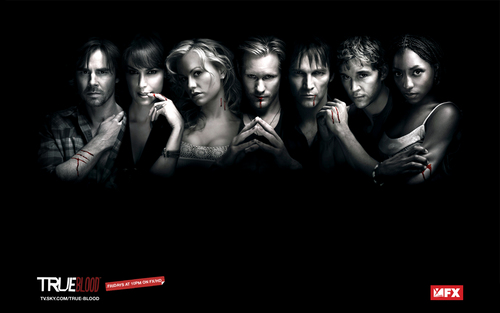 cast - true-blood Wallpaper