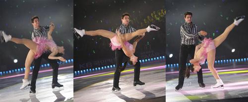 Tessa Virtue & Scott Moir wallpaper called essa Virtue & Scott Moir - All that skate summer 2011 Mujer latina+Temptation