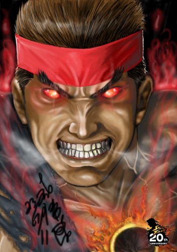 evil Rvil - street-fighter Fan Art