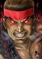 evil ryu - street-fighter fan art