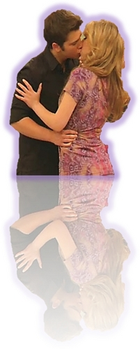 Sam and Freddie wallpaper called iLMM Seddie Kiss
