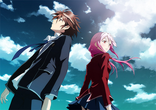inori and shu - guilty-crown Photo