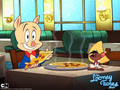 porky 2 - looney-tunes wallpaper