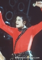 red and black shirt - michael-jackson photo