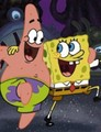 spongebob and pat