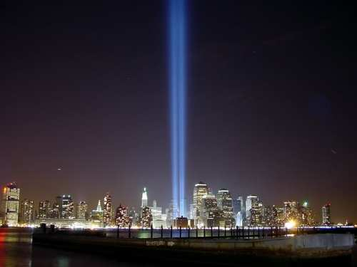 tribute light 9-11-01