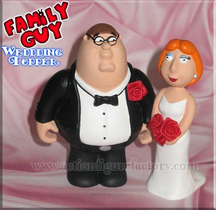 wedding topper - family-guy Photo