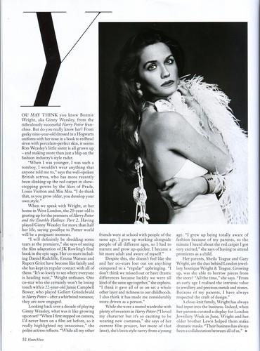 2011 - Haute म्यूज़् Magazine