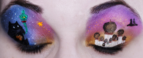 Aladdin Eye Makeup Art