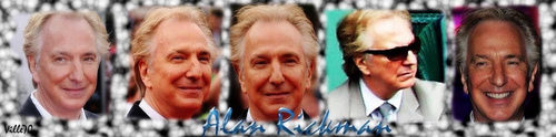 Alan Rickman Banner