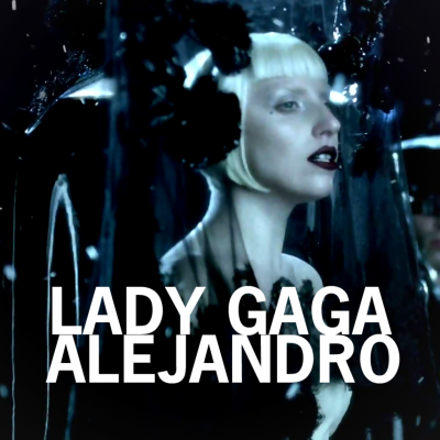 Alejandro Fanmade Single Covers