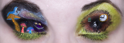 Alice in Wonderland Eye Makeup Art