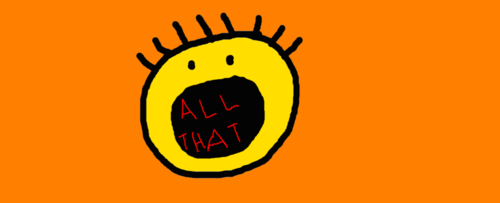 Old School Nickelodeon wallpaper titled All That Logo