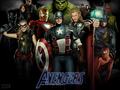 marvel-comics - All avengers wallpaper
