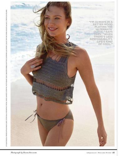 Anna Torv fond d'écran titled Anna Torv in Rolling Stone Magazine