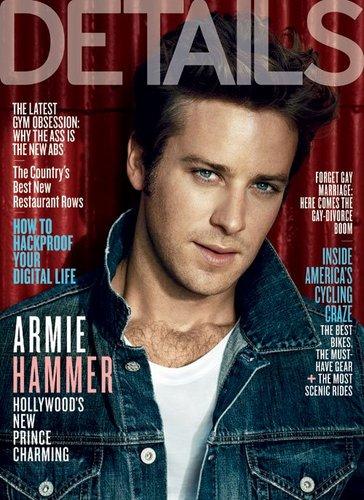 Armie - Details Magazine (October 2011)