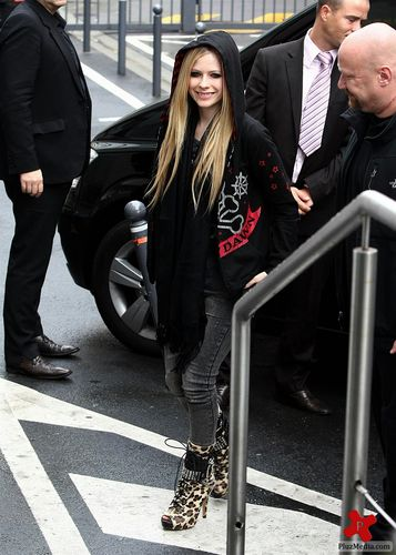 Arriving NRJ Studio- Paris FR 16.09.11