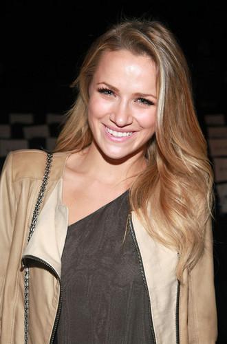 BCBG Max Azria - Front Row - Spring 2012 Mercedes-Benz Fashion Week