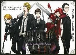 Black Butler Shinigami mga wolpeyper
