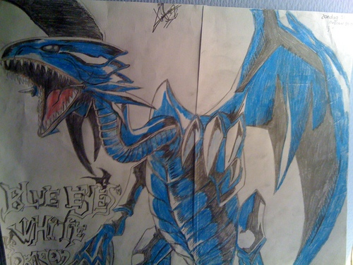 Blue Ice White Dragon