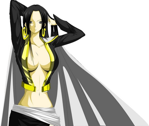 one piece wallpaper called ular boa, boa Hancock
