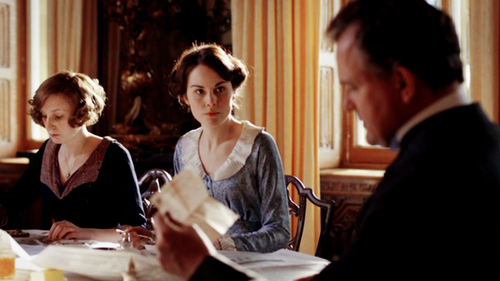 Breakfast at Downton Abbey