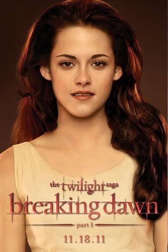 Breaking Dawn Bella promo poster