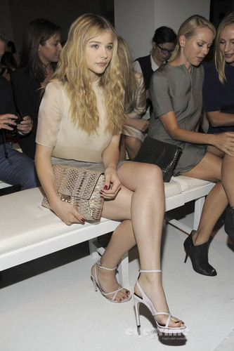 Calvin Klein Collection Spring 2012 Mercedes-Benz Fashion Week - chloe-moretz Photo