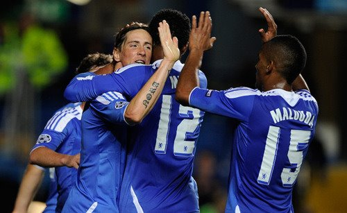 Chelsea 2x0 Bayer Leverkusen 13.09.2011