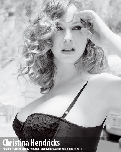 Christina Hendricks wallpaper probably with attractiveness titled Christina