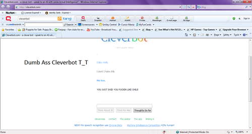 Cleverbot Fail -.-