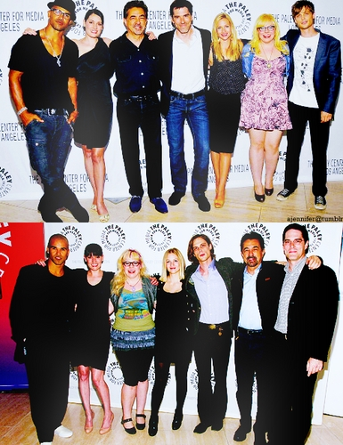 Criminal Minds cast @ Paley Center 2008&2011