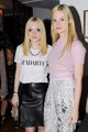 Dakota and Elle Fanning: Rodarte mostrar during MBFW, Sep 13
