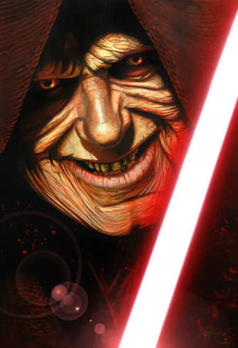 Darth sidious concept art