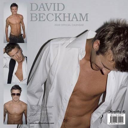David Beckham calendar 2007