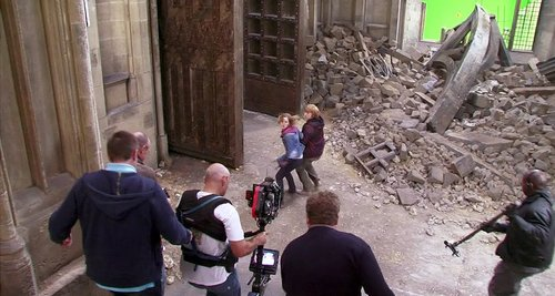 Deathly Hallows Part 2 Behind the Scene Pictures