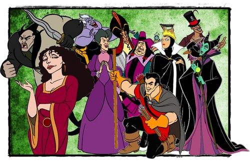 디즈니 Princess Villains Lineup