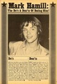 Do's and dont's of dating Mark - mark-hamill photo
