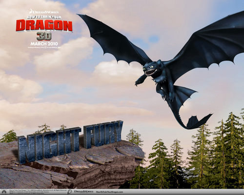 Dragons! - how-to-train-your-dragon Wallpaper