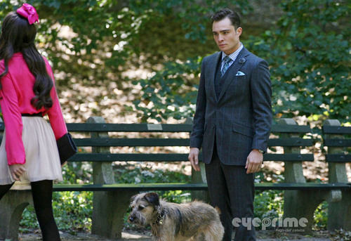 Ed Westwick on the Set of Gossip Girl in NY, Sep 16