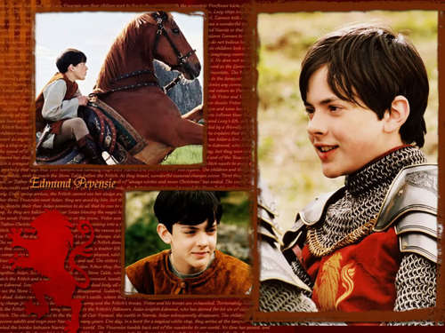 The Chronicles Of Narnia wallpaper titled Edmund Pevensie Wallpaper