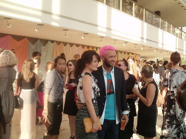Elizabeth at Chris Benz spring 2012 event! [16/09/11]
