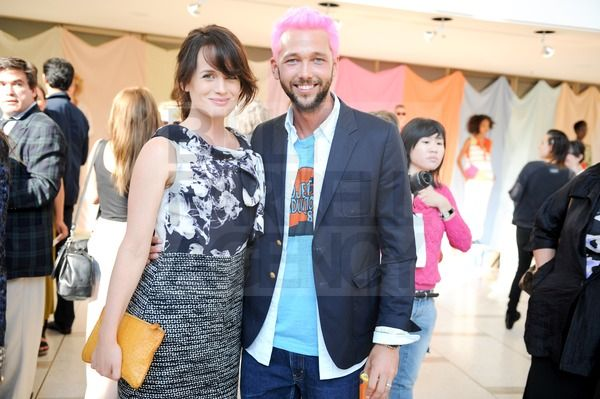 Elizabeth at Chris Benz spring 2012 event! [16/09/11]