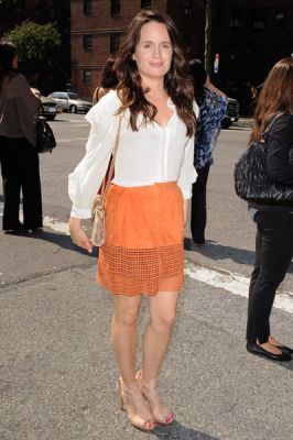 Elizabeth leaves Fashion Week at lincoln Center [12th September 2011]