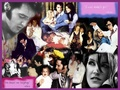 Elvis & Lisa - lisa-marie-presley wallpaper